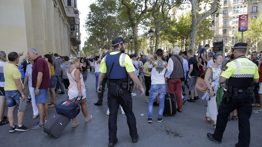 Atropello múltiple en Las Ramblas de Barcelona
