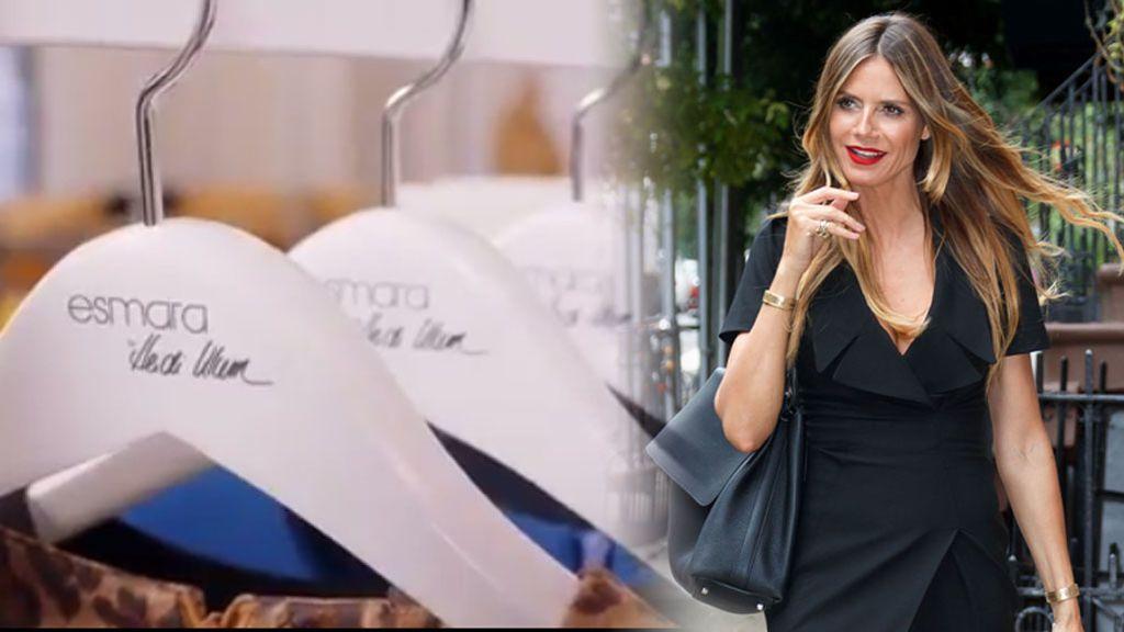 Heidi Klum y Lidl preparan una colección 'low cost' para llevártela al super