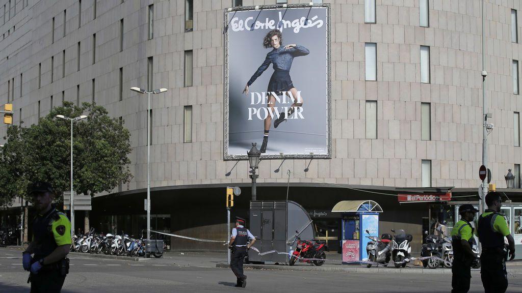Atropello múltiple en Las Ramblas de Barcelona