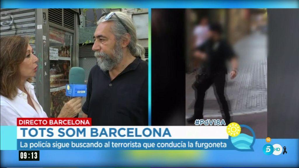 """Dueño del kiosco en La Rambla: """"No es justo acabar siendo esclavos del miedo"""""""