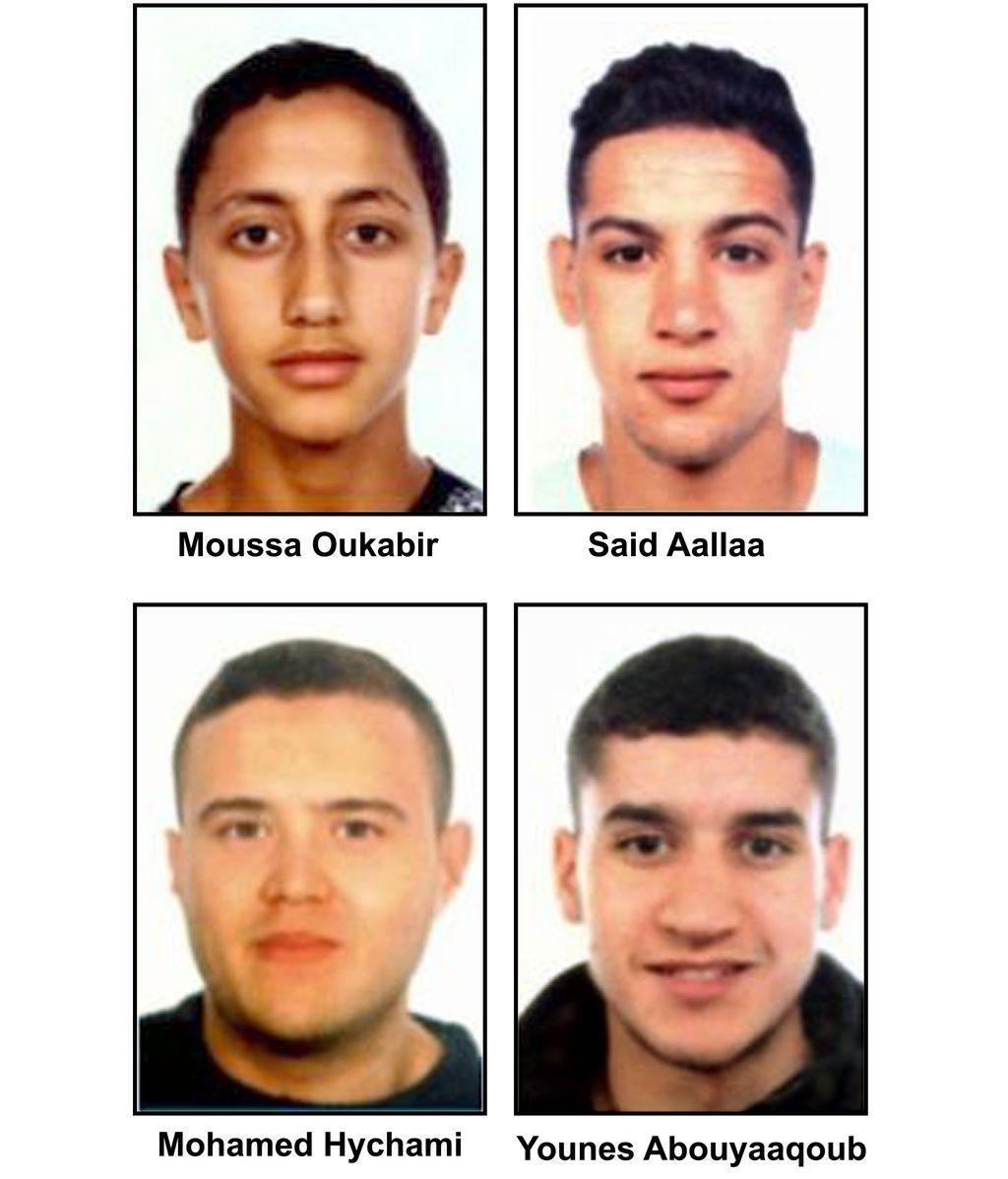 La Policía busca a 4 jóvenes por su relación con los atentados de Barcelona y Cambrils