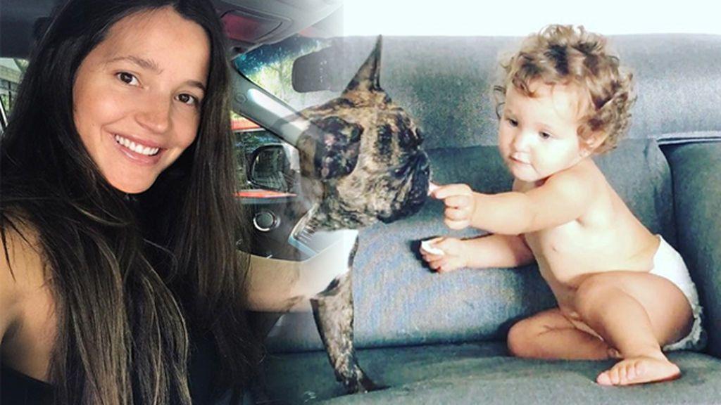 """Matilda y Roco jugando juntos o cómo conseguir que Malena Costa se derrita: """"#Meloscomo"""""""