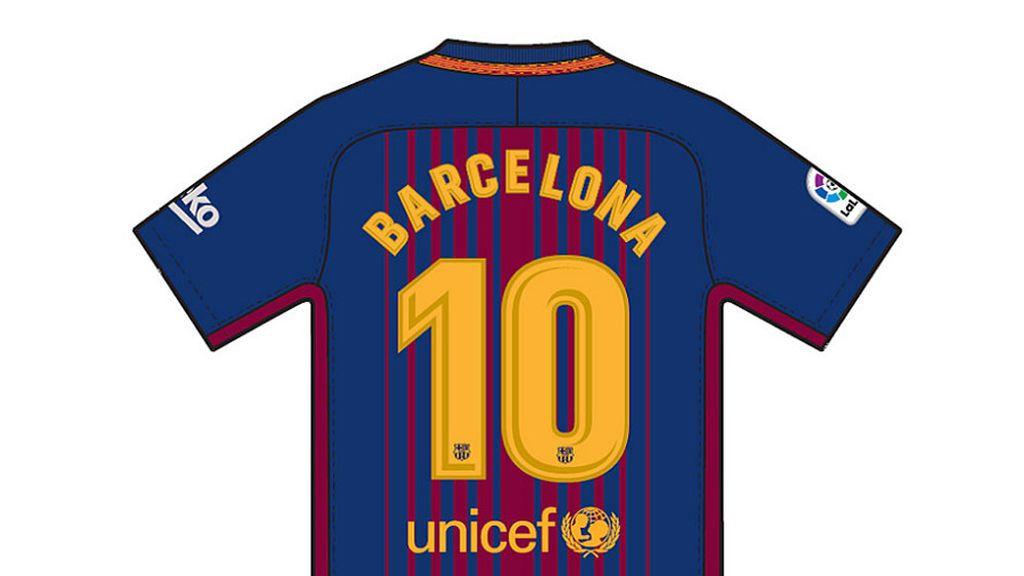Los jugadores del Barça lucirán su dorsal con el nombre de 'Barcelona' en sus camisetas