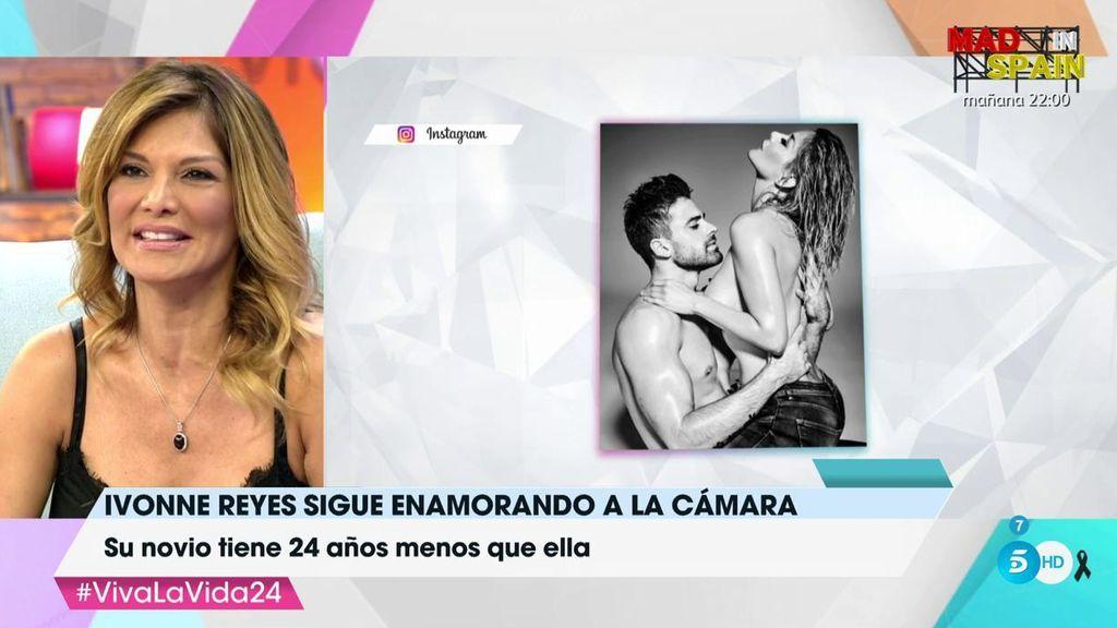 """Ivonne Reyes, emocionada hablando de Sergio Ayala: """"Mi vida era como una telenovela y él le ha dado frescura e ilusión"""""""