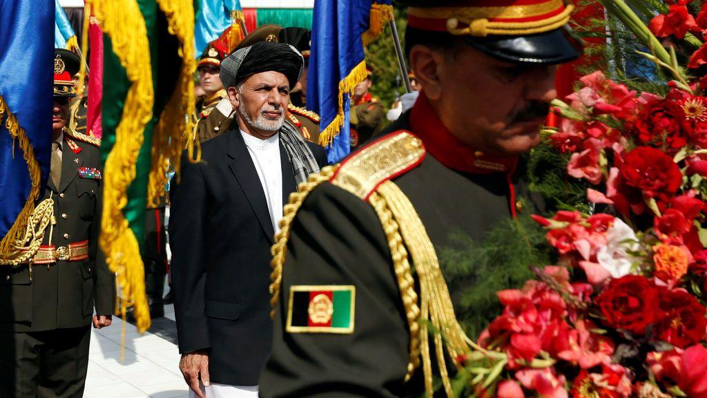 El presidente afgano  preside el día de la Independencia en Kabul