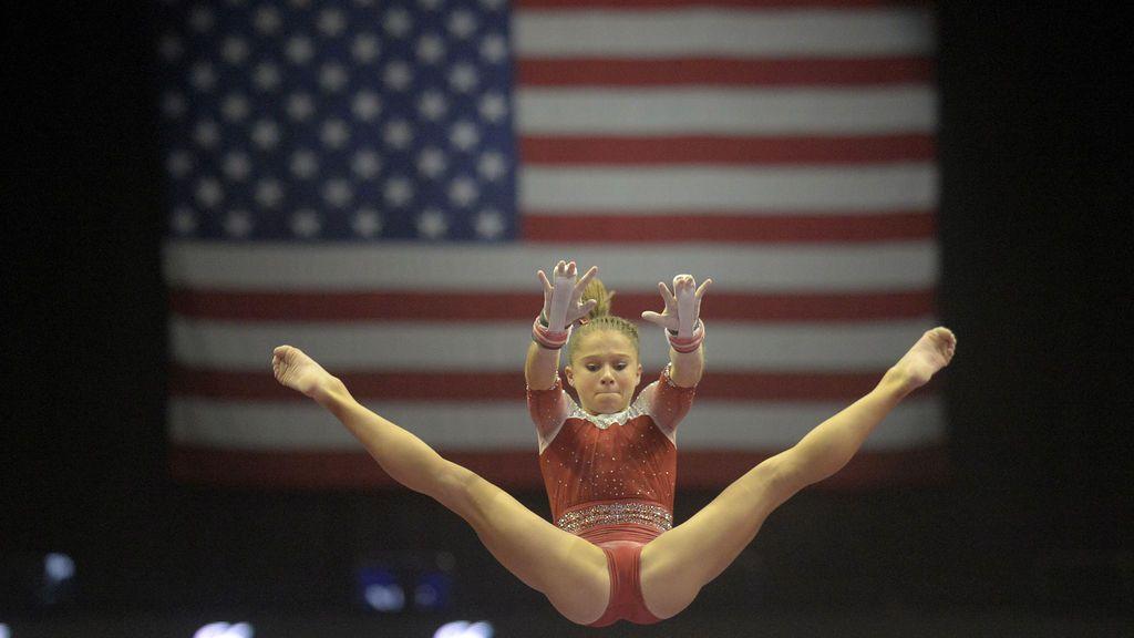La atleta Ragan Smith durante el Campeonato Mundial de Gimnasia Artística 2017