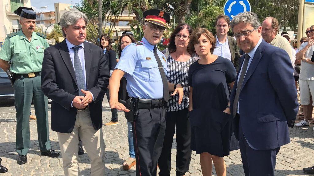 """Santamaría destaca que Cambrils """"merece recuperar la normalidad cuanto antes"""""""