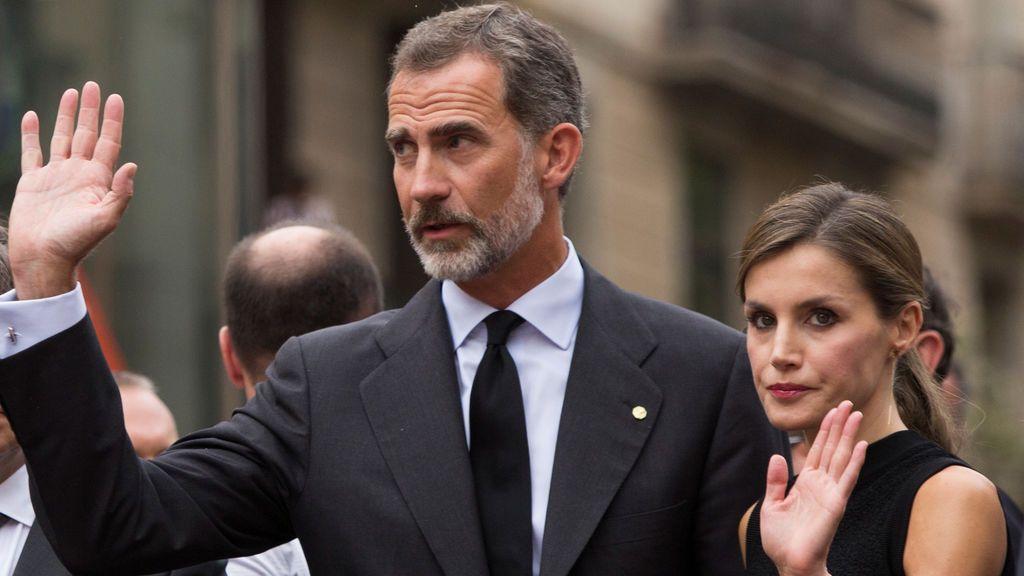 Los Reyes sienten y comparten el dolor de Barcelona y Cambrils