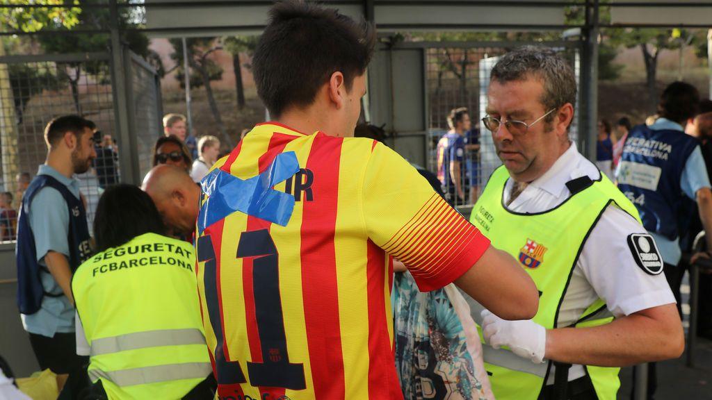 Neymar y los controles de seguridad, protagonistas antes del Barcelona - Betis