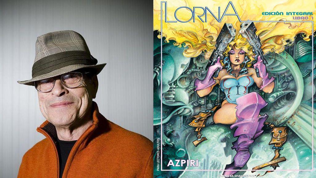 Fallece el ilustrador Alfonso Azpiri, creador de 'Lorna' y 'Mot'