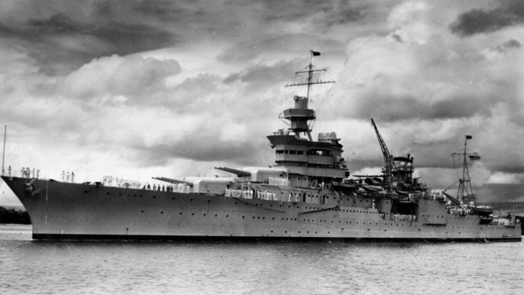 Hallados los restos del buque 'USS Indianapolis' 72 años después de su hundimiento
