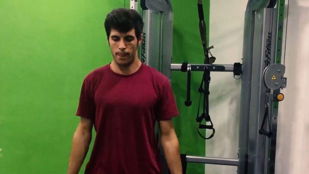¿Es Ramiro Arganda puro músculo? ¡Lo comprobamos!