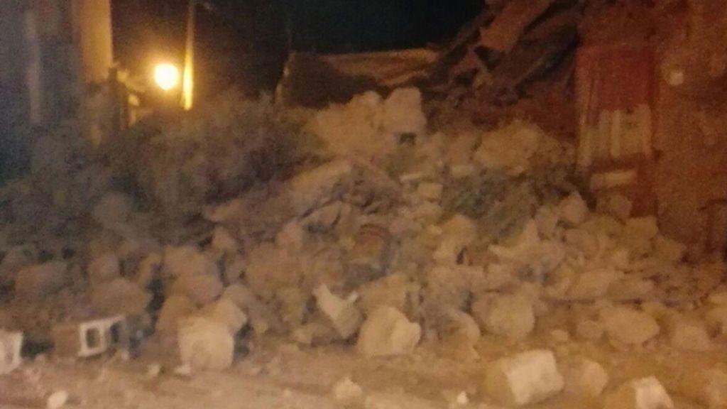 Un terremoto deja varios heridos en la isla italiana de Isquia