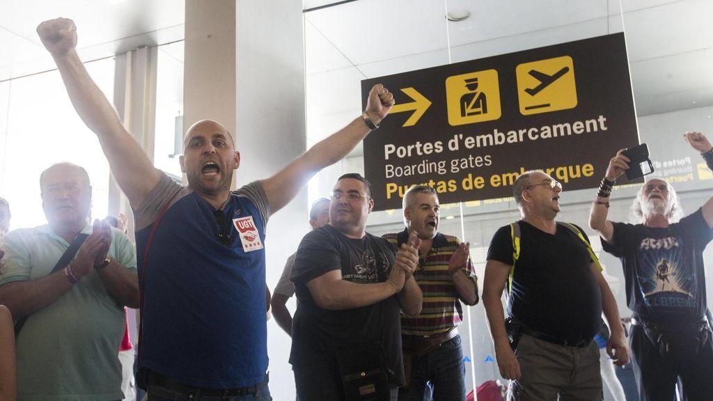 """La plantilla de Eulen en El Prat estudia convocar una nueva huelga tras """"sanciones y despidos"""""""