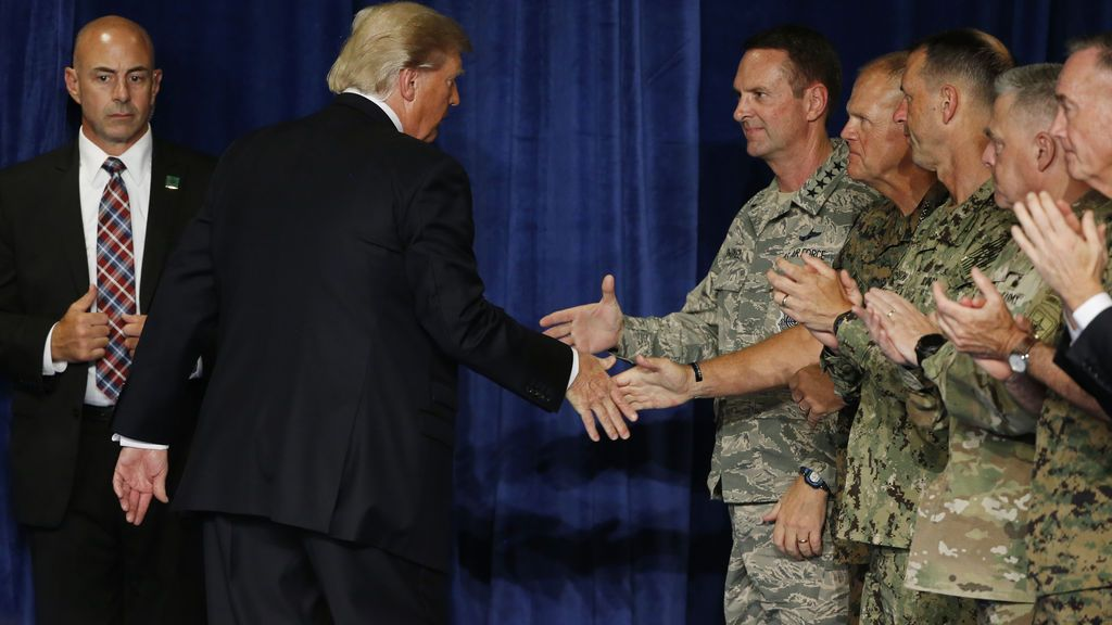 Donald Trump Afganistán