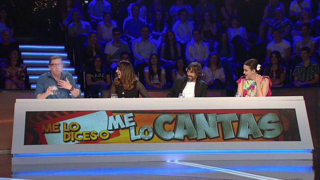 Jorge, Yolanda y el resultado de mezclar risa y agua en un plató de televisión