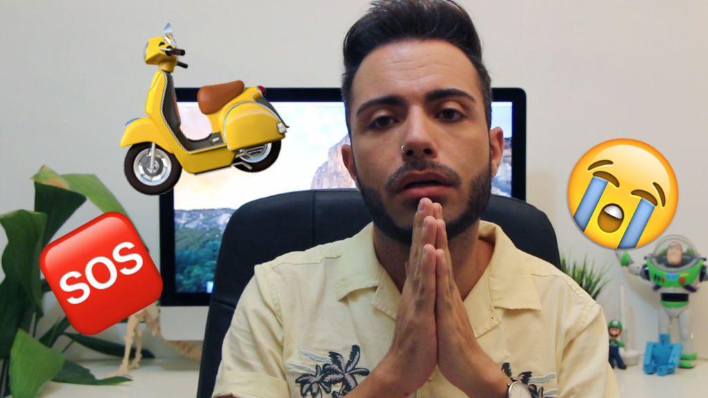 DRAMA: Cómo le robaron la moto a Manelvideoblogs