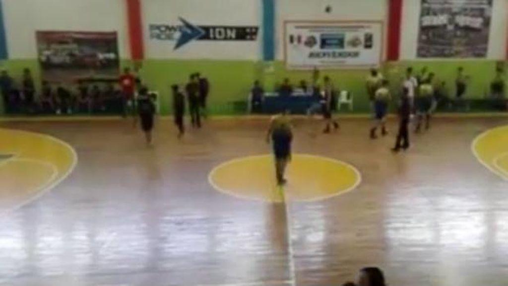 ¡Pánico en el basket mexicano! Un tiroteo interrumpe un partido de instituto