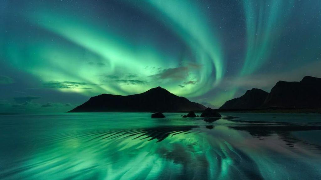 Foto realizada por Beate Behnke (Alemania), en Skagsanden, Lofoten (Noruega)