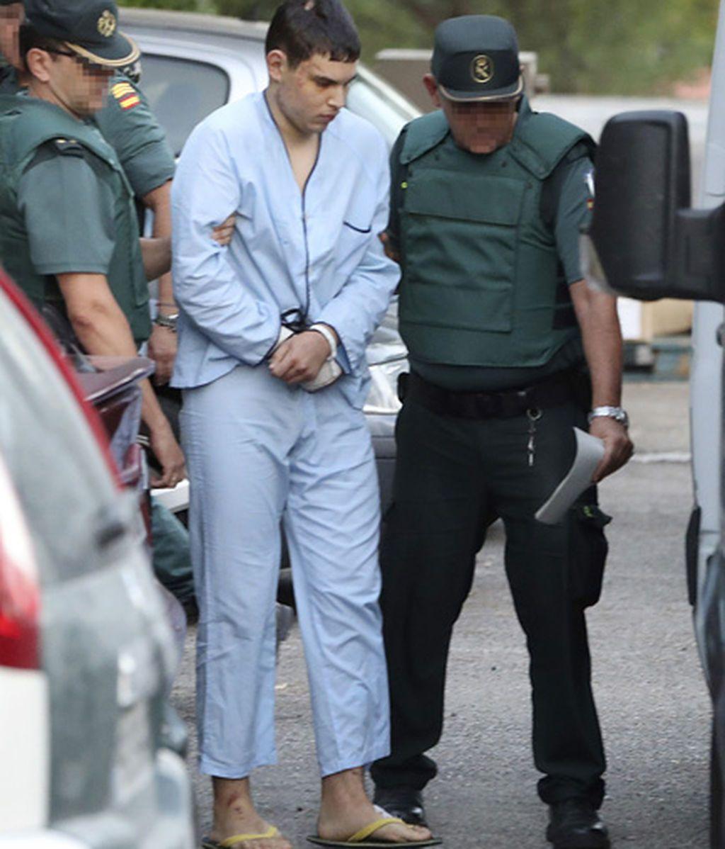 Trasladan a los 4 terroristas detenidos de Cataluña a la Audiencia Nacional