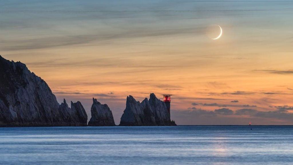 Foto realizada por Ainsley Bennett (Reino Unido), en Alum Bay, Freshwater (Isla de Wight)