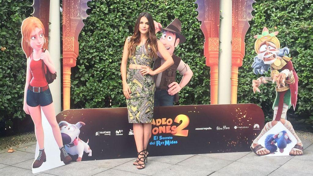 Así posan Corbacho, Ugarte y Jenner, las voces de 'Tadeo Jones 2'