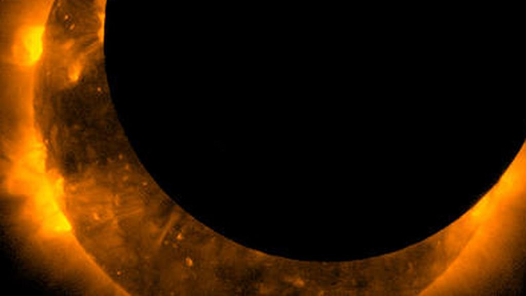 El eclipse solar en imágenes