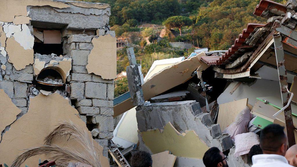 Terremoto en la isla de Ischia, Italia