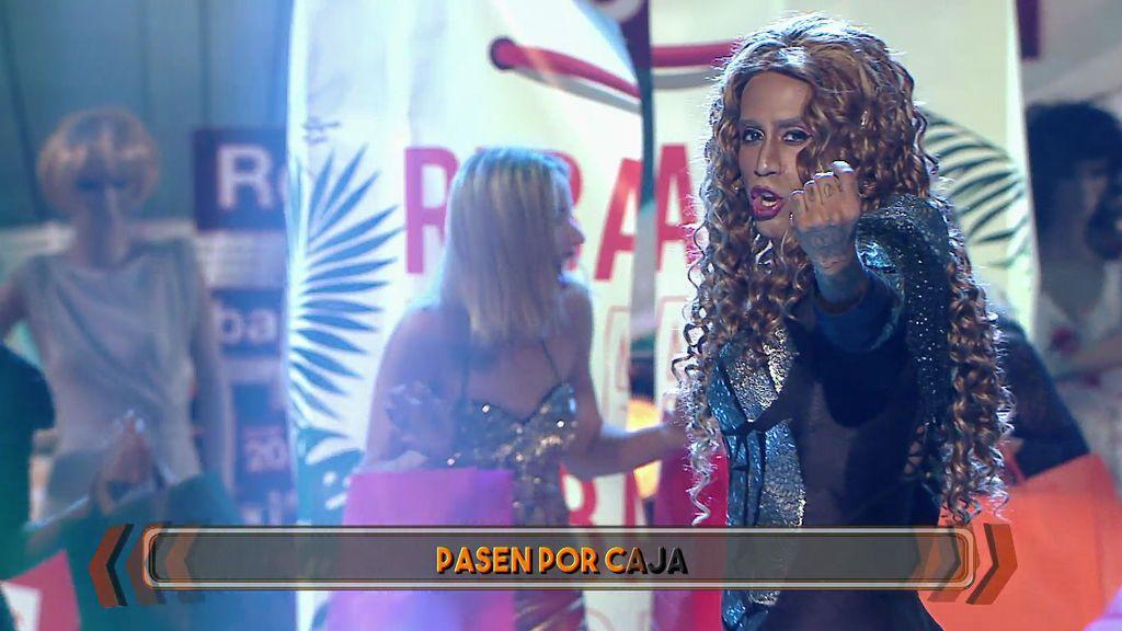 """Santi Millán a Beyoncé Alcover: """"Estoy buscando alguna pega… la única es que eres un tío"""""""