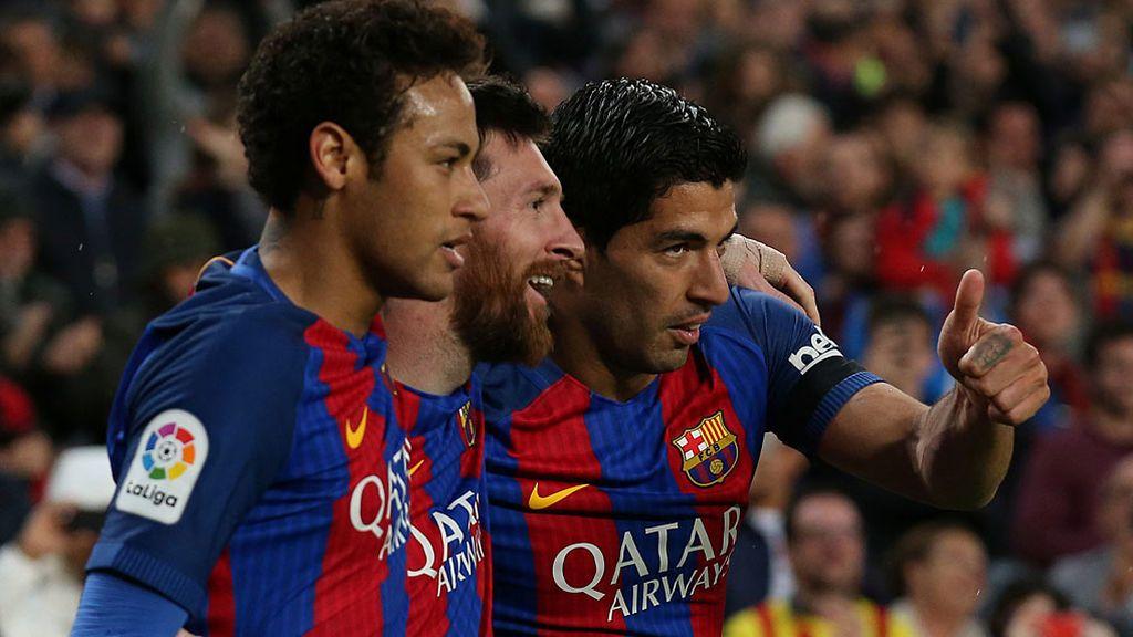 La MSN se vuelve a juntar y ¡Messi le dedica la foto a Piqué!