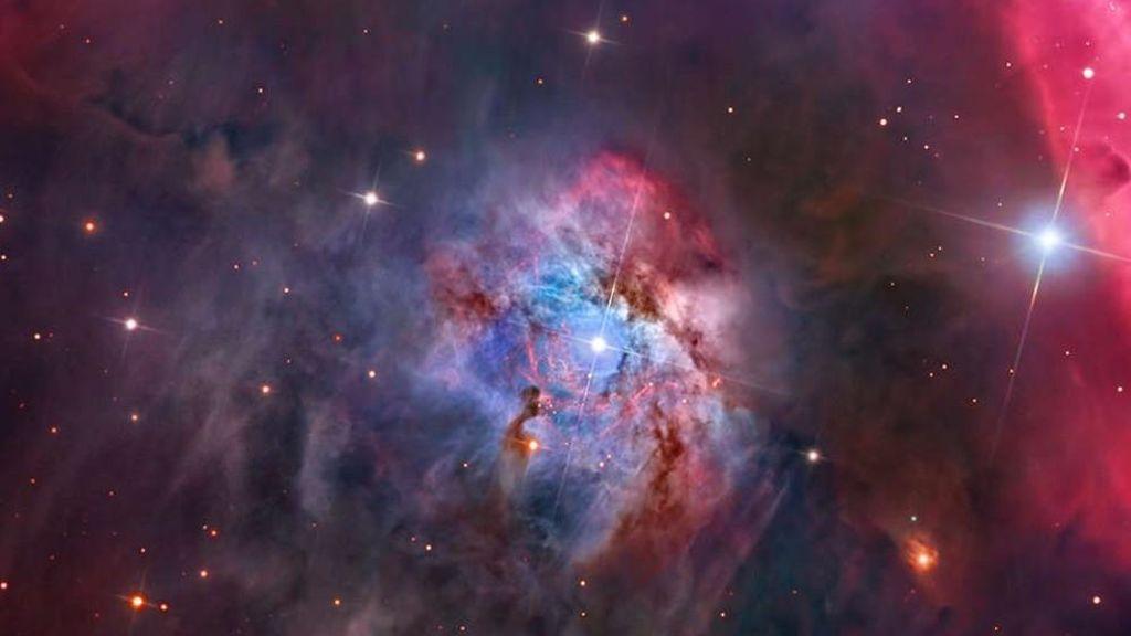 Foto realizada por Warren Keller (USA), en Observatorio Interamericano Cerro Tololo, cerca de La Serena (Chile)