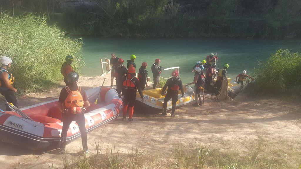 Localizan el cadáver del menor desaparecido en el río Cabriel