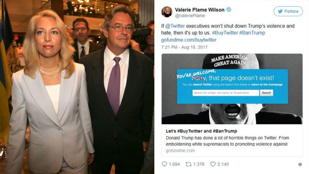 Una ex agente de la CIA abre un crowfunding para comprar Twitter y echar a Trump