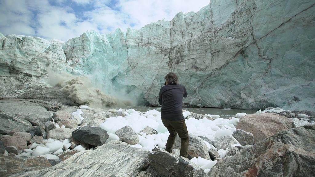 ¡SOS! El cambio climático está derritiendo los polos (y Andoni capta el momento)