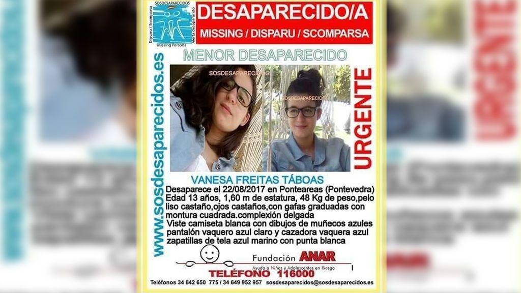 """Localizada """"en perfecto estado"""" la joven desaparecida en Pontevedra"""