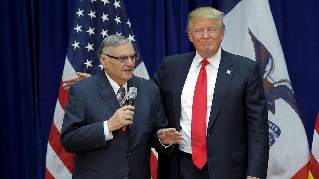 El polémico ex sheriff Joe Arpaio agradece a Trump el indulto