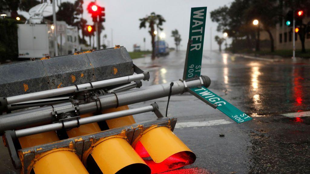 El huracán 'Harvey' toca tierra en Texas con lluvias torrenciales
