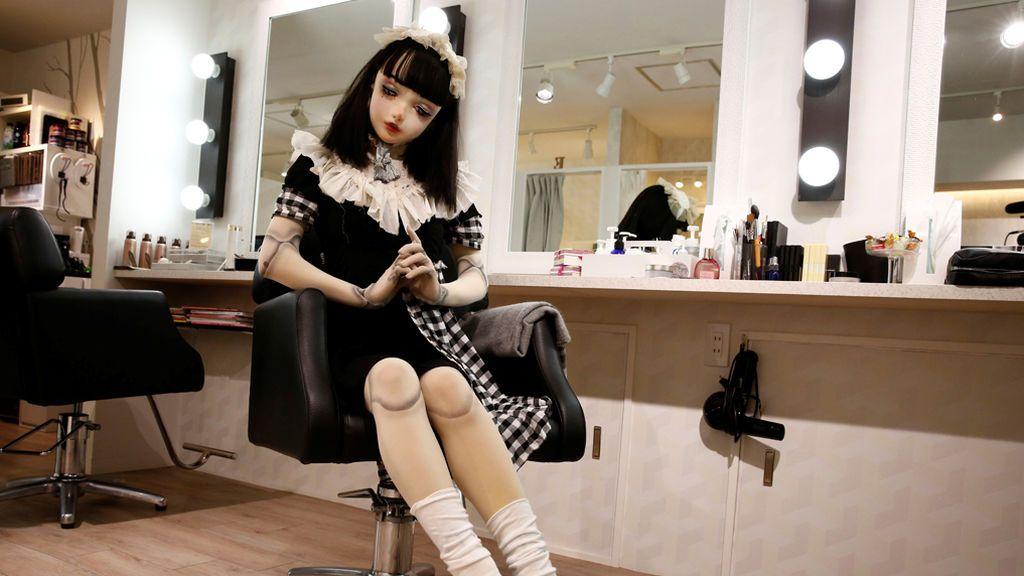 Muñeca human en Japón