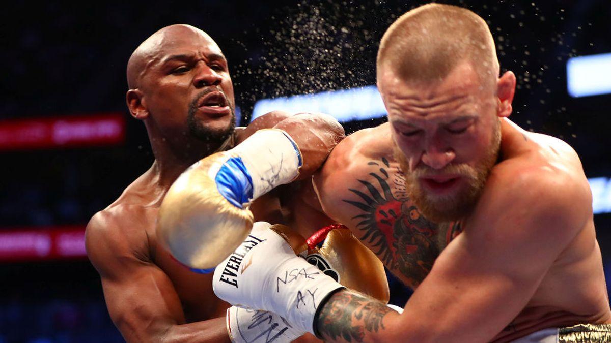 Mayweather vence por KO técnico a McGregor en un histórico combate