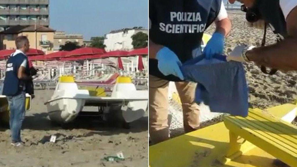 Violan repetidas veces a una turista en Italia mientras golpean y roban a su pareja