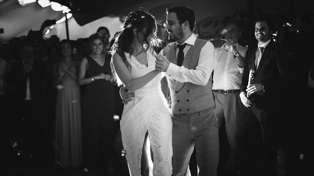 """Alberto Garzón se atreve """"con un tango"""" el día de su boda con Anna Ruiz"""