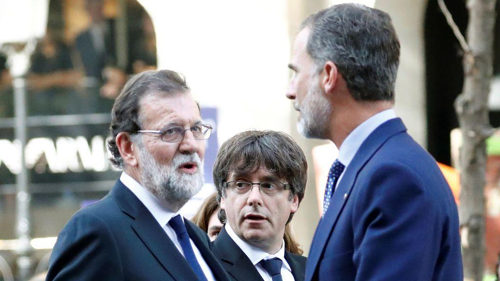 """Puigdemont pide no """"magnificar"""" los pitos al Rey sino el clamor por la paz"""