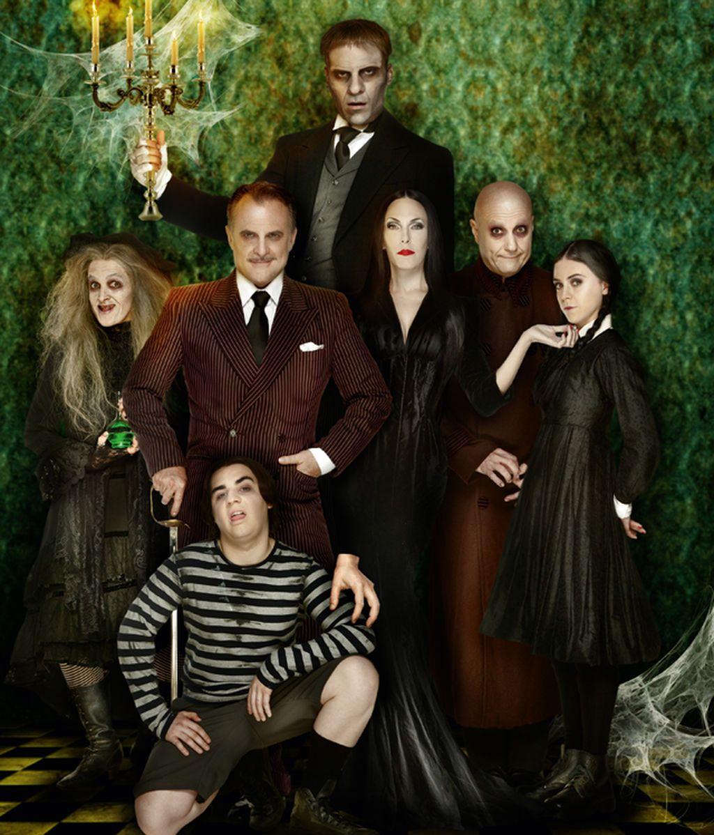 ¡Primera foto de 'La Familia Addams'! Llega a Madrid la comedia musical más terrorífica