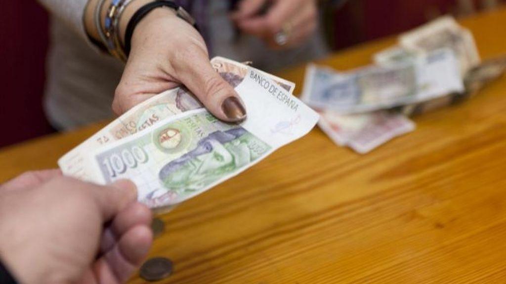 Los españoles aún conservan pesetas por valor de 1.637 millones de euros