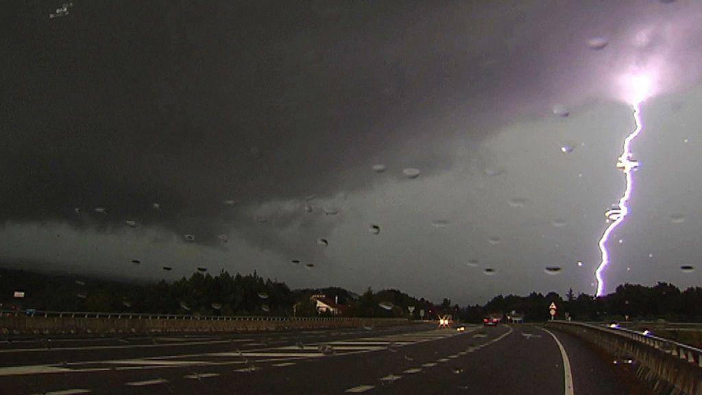 Grandes tormentas en Ourense