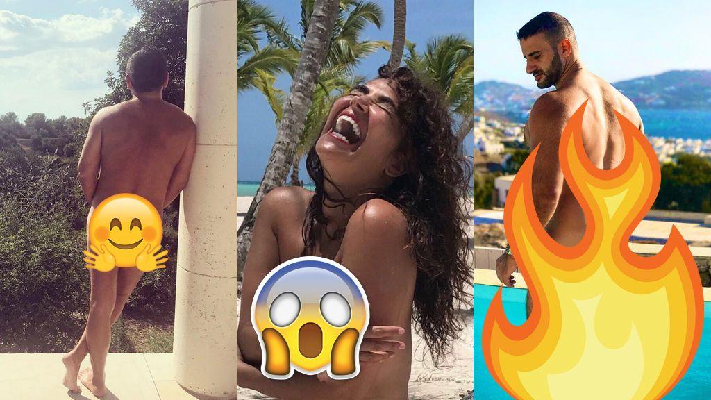 10 personajes de Telecinco que se han desnudado en Instagram