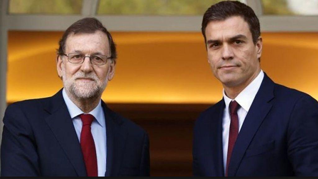 Rajoy y Sánchez  sobre la ley de transitoriedad: Pactan trabajar de forma conjunta contra el desafío soberanista