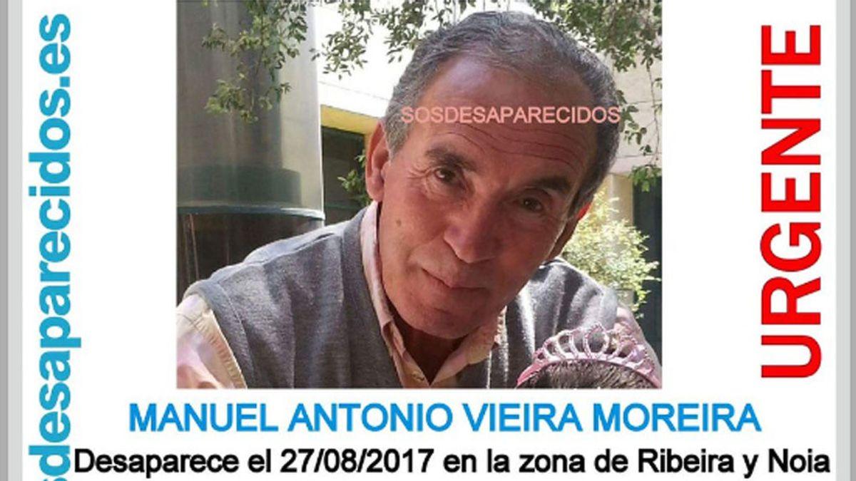 Buscan a un septuagenario desaparecido desde el domingo en la zona de Ribeira y Noia