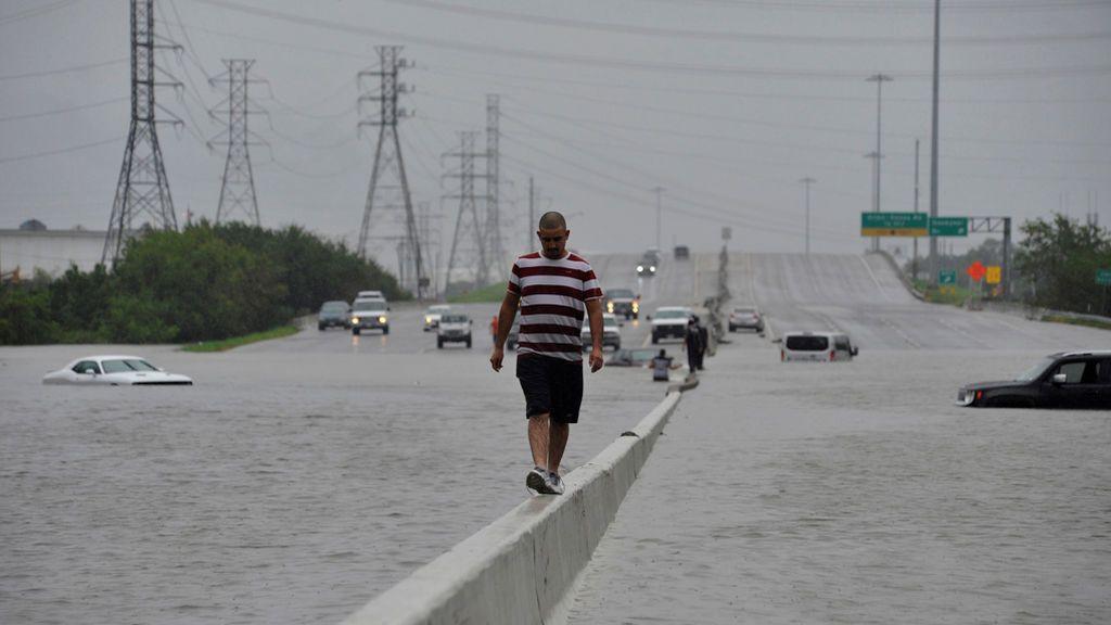Las imágenes más impactantes del huracán Harvey