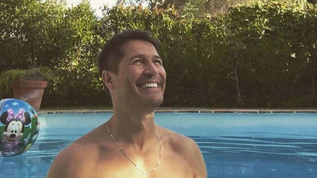 'Accidente' en la piscina: Jaime Cantizano acaba con puntos de sutura